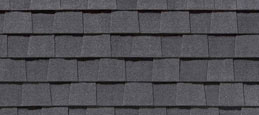 Charcoal Black Architectural Shingle